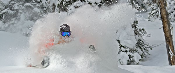 On average Whistler gets nearly 12 meters of snow each winter, that's over 39 feet of powder