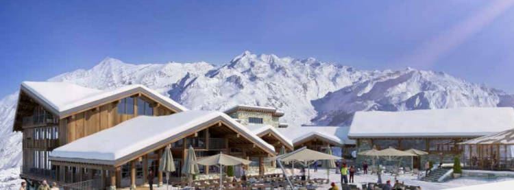 Val d'Isere Announces Highest Hotel In Europe