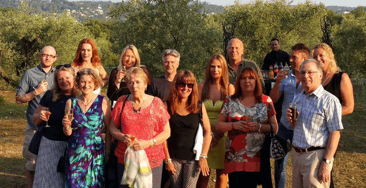 The Ski Line team at our annual conference in the South of France last summer