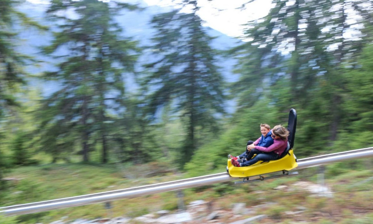 Xtreme Luge Opens In La Rosiere!