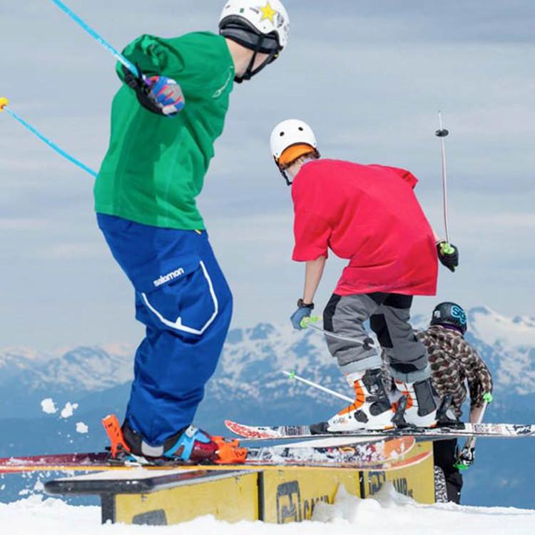 Best ski resort terrain parks in Europe