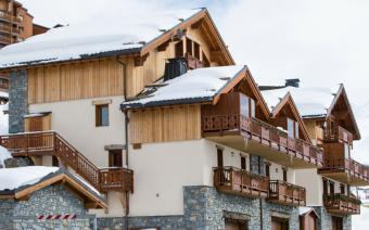 Ski Holiday Les Menuires Chalet Aigrette (Childcare)