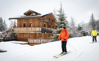 Ski Holiday La Tania Chalet Les Oursons