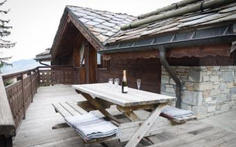 Ski Holiday La Tania Chalet Vallon Blanc