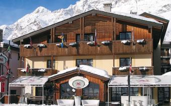 Ski Holiday Cervinia Chalet Hotel Dragon