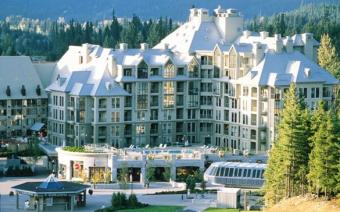 Ski Holiday Whistler Pan Pacific Mountainside