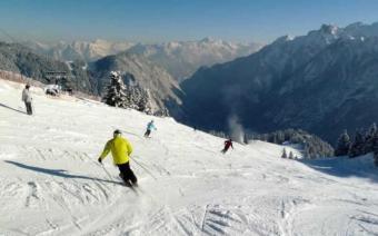 Bludenz Ski Resort, Austria