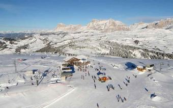 Colfosco Ski Resort Italy