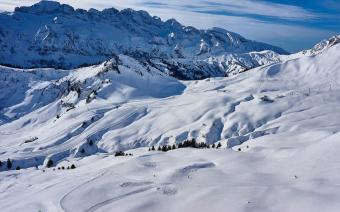 Les Crosets Ski Resort Switzerland