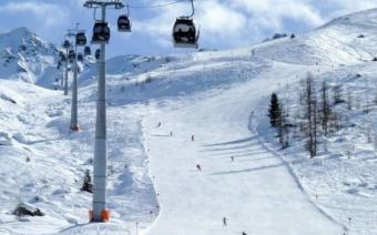 See im Paznauntal Ski Resort Austria