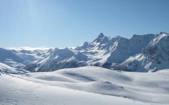 Ski Resort, Claviere, Italy