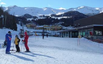 Ski Resort, Pila, Italy