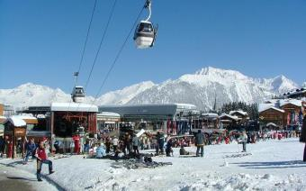 Courchevel Ski Resort 1