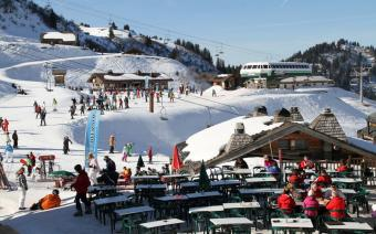 Chatel Ski Resort in France