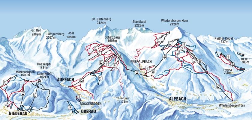 Oberau Ski Resort Austria Ski Line