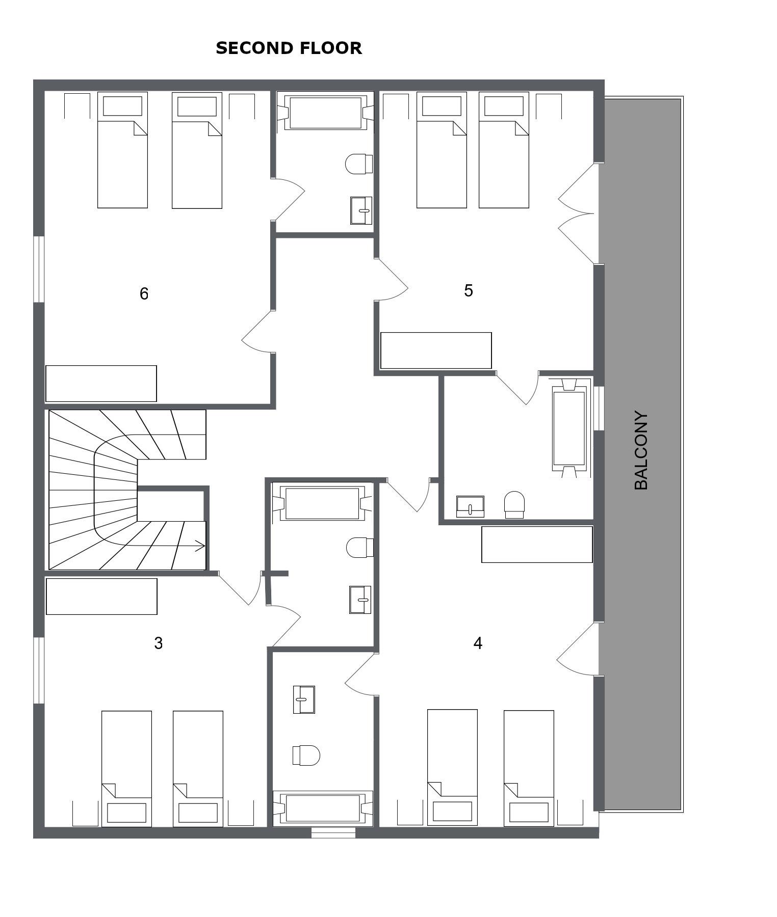 Chalet Alysson Meribel Floor Plan 3