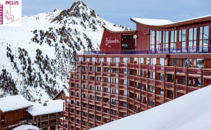 Belambra Hotel L'Aiguille Rouge, les arcs, france.external