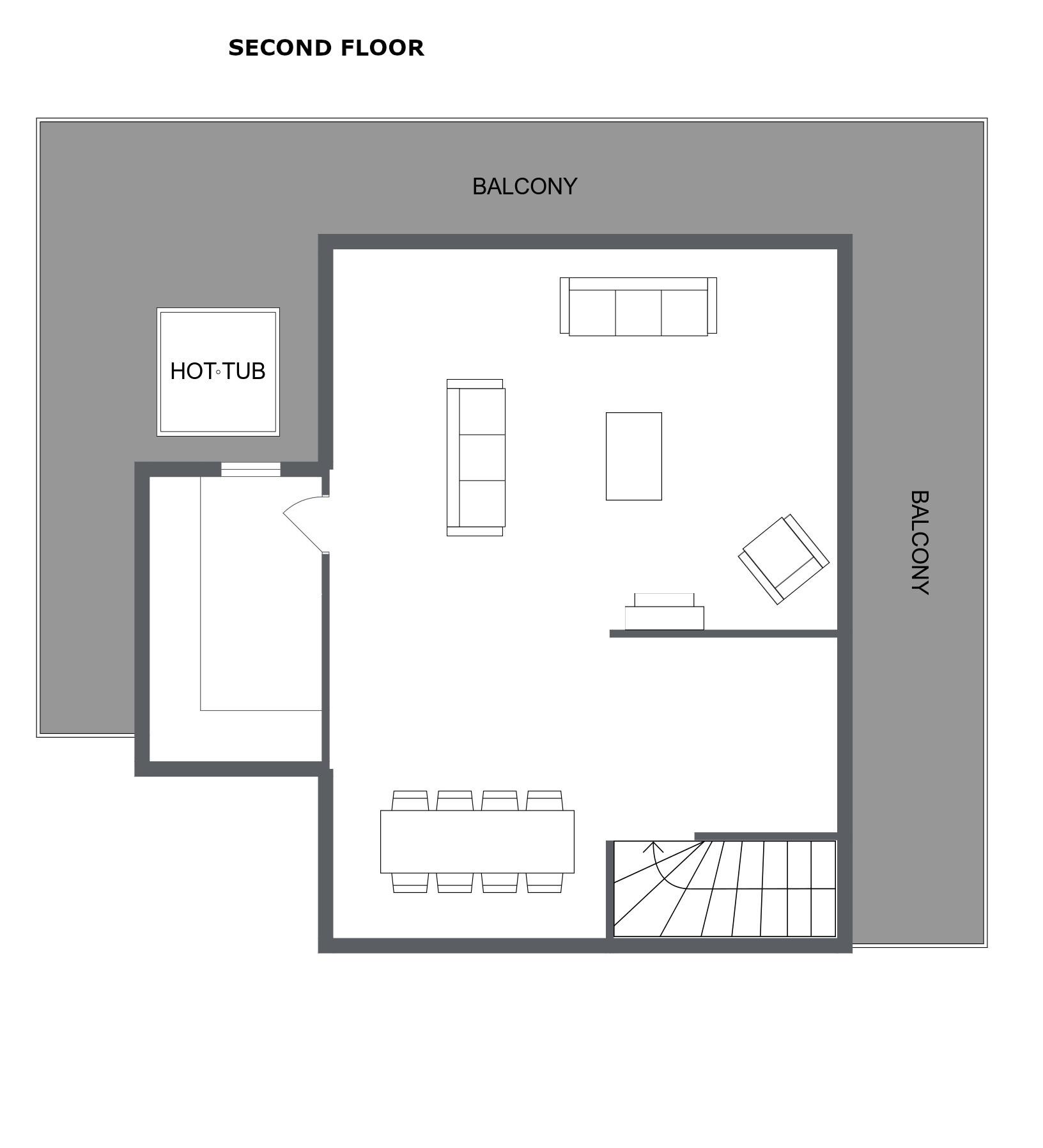 Chalet Bouchot Meribel Floor Plan 3