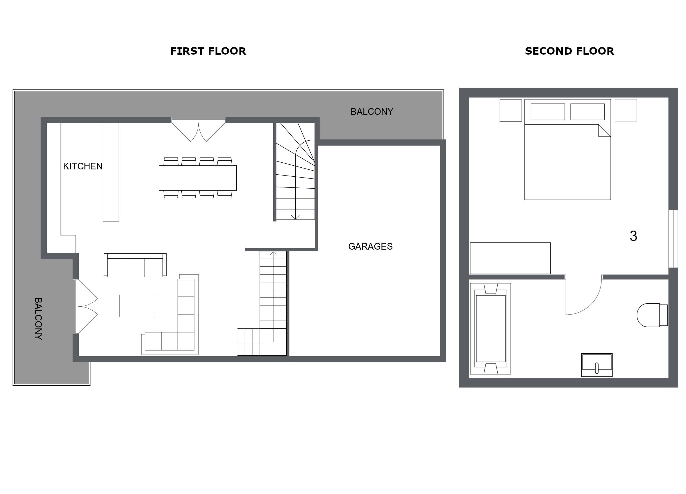 Chalet Toubkal One La Tania Floor Plan 2