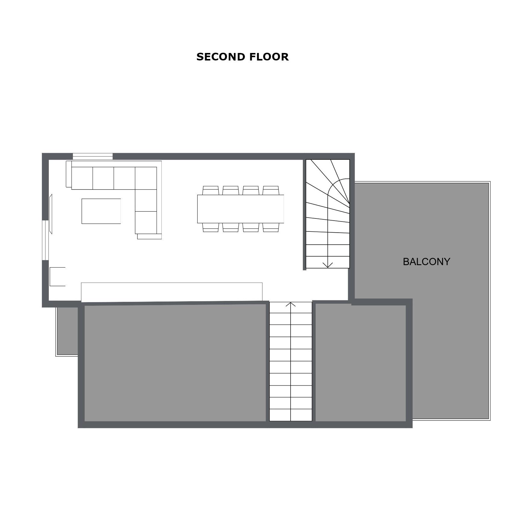 Chalet Toubkal Two La Tania Floor Plan 2