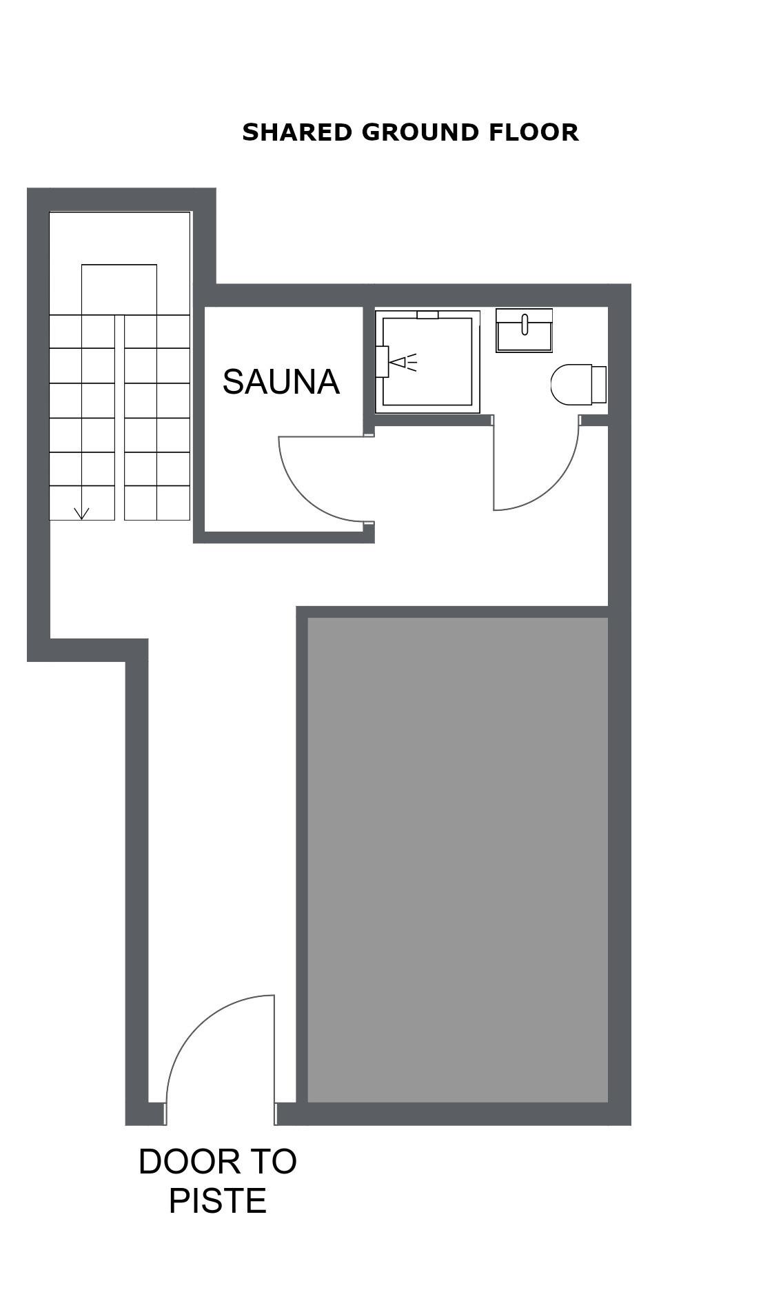 Chalet Toubkal Two La Tania Floor Plan 1