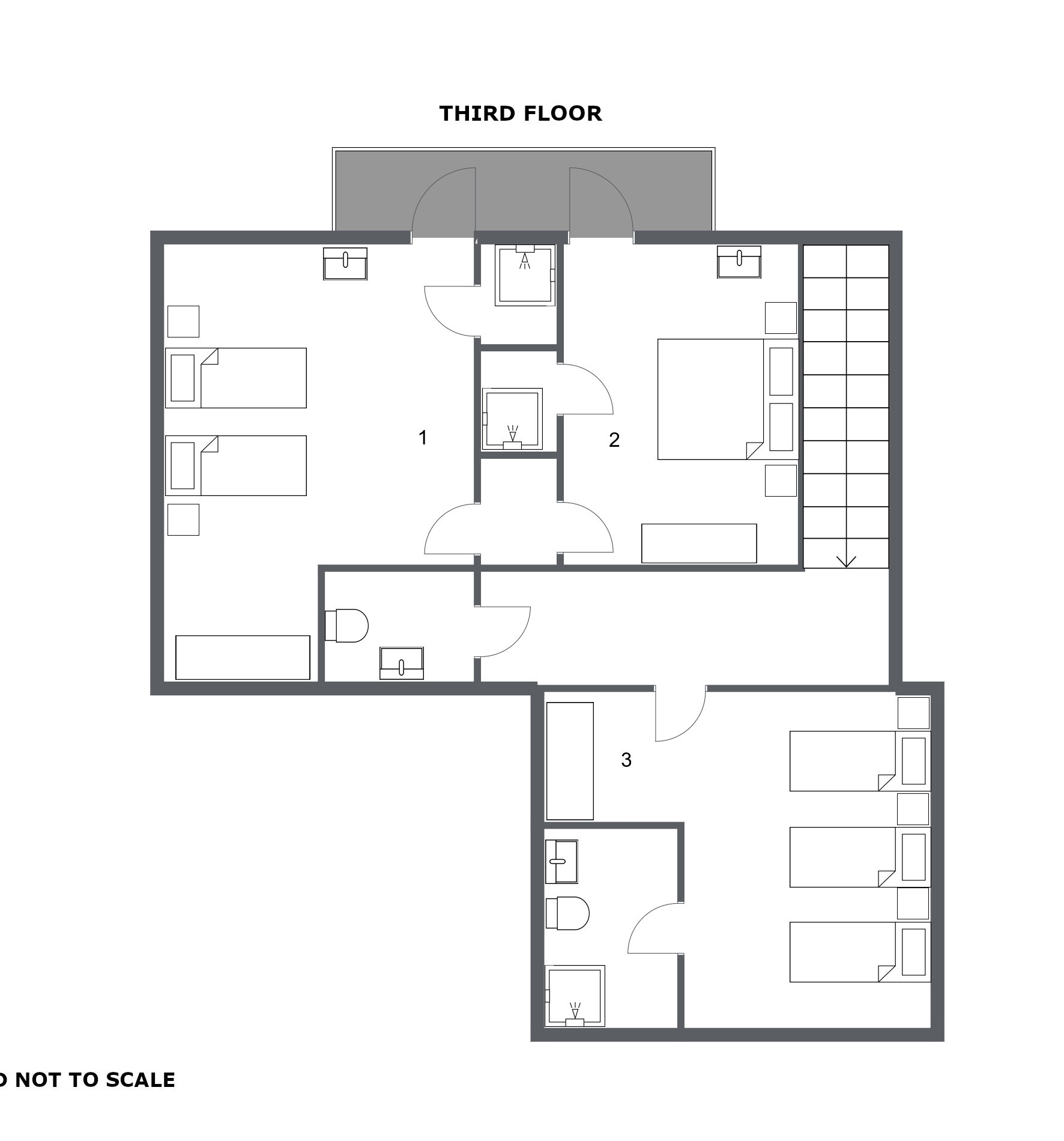 Chalet Toubkal Two La Tania Floor Plan 3
