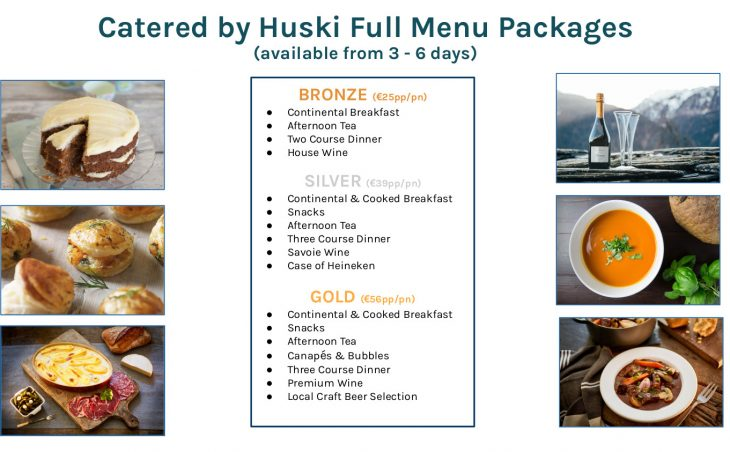 Huski Catering Menu