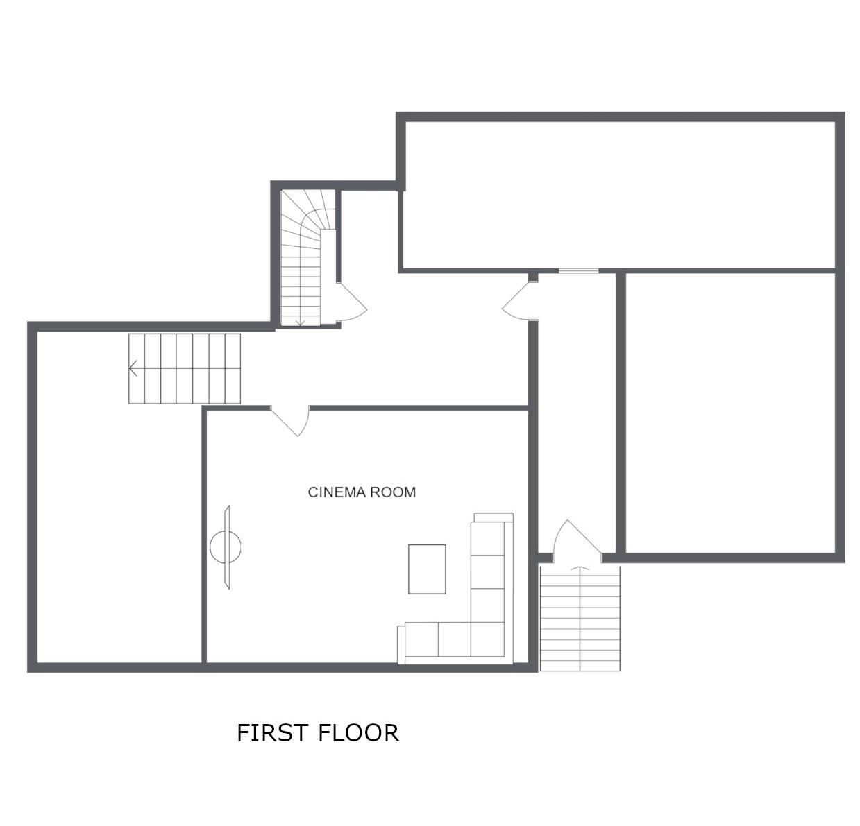 Chalet Virage Meribel Floor Plan 1