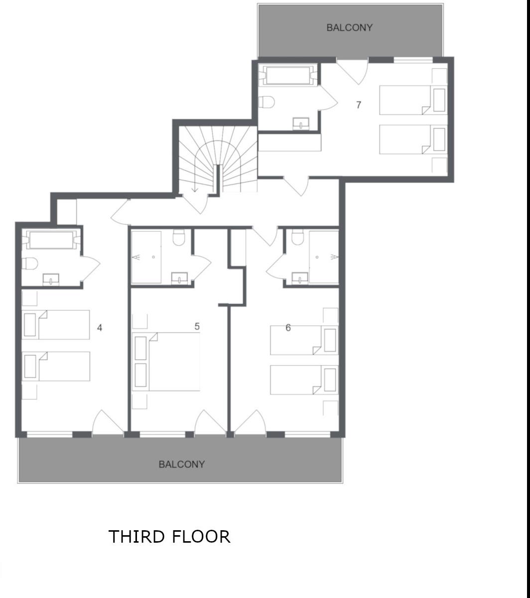 Chalet Virage Meribel Floor Plan 3