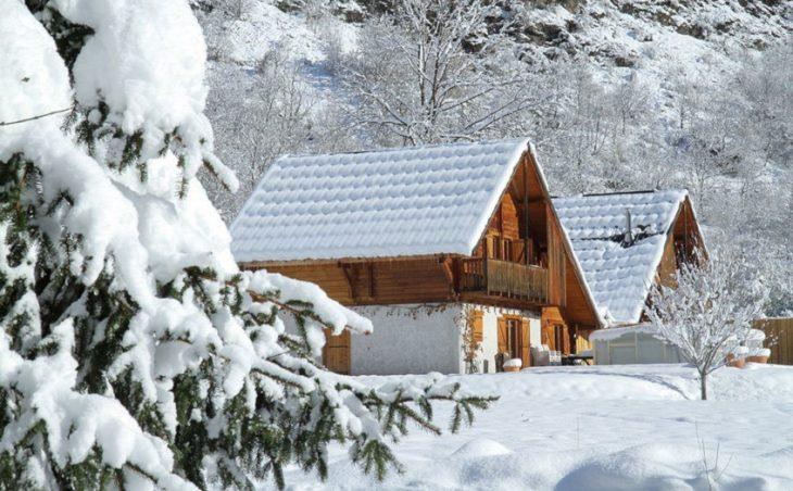 Chalet la Lauze in Les Deux-Alpes , France.external