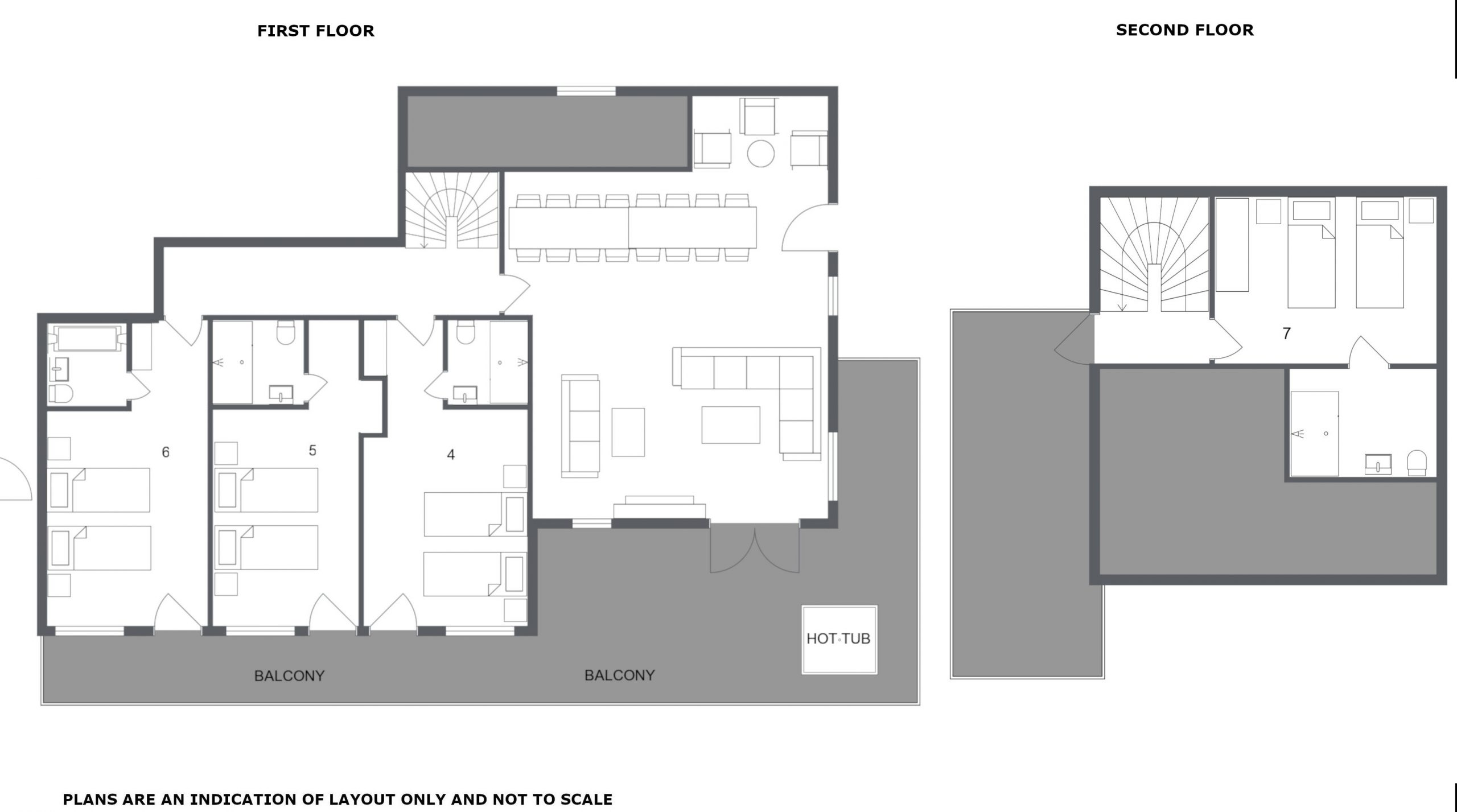 Chalet Chardon Meribel Floor Plan 2