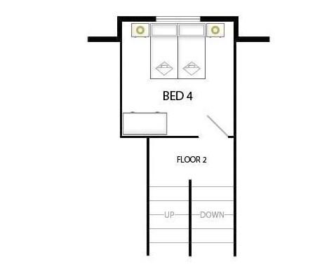 Chalet Patineur Tignes Floor Plan 2