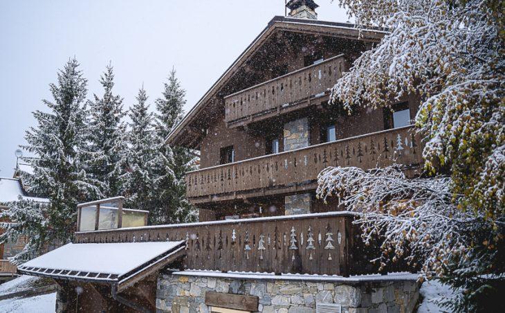 Mountain Lodge,meribel,france.external