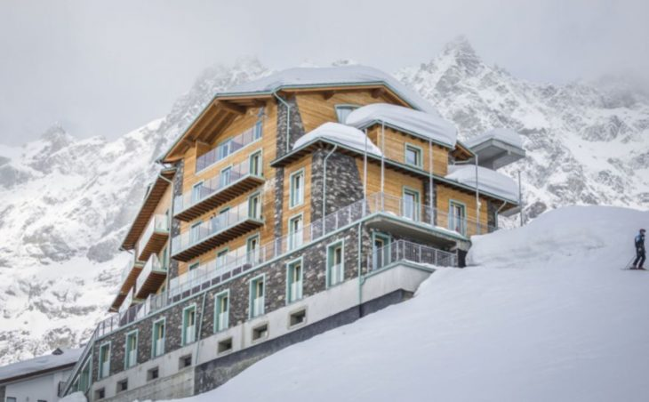 Hotel White Angel,Cervinia,italy.external