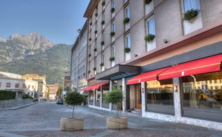 Hotel Duca d'Aosta, aosta,italy.external