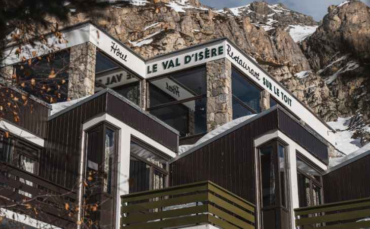 Ski Hotel Le Val d'Isere, val disere,france.external