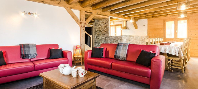 One of the ski chalets available on our New Staff test weeks on the 14th December 2019