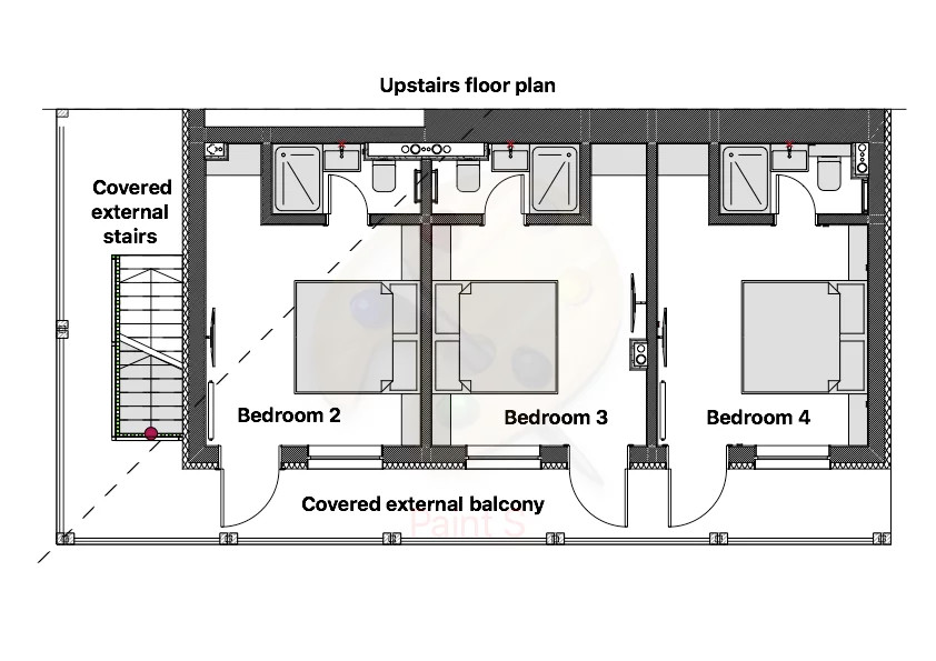 Snowflake Lodge Bansko Floor Plan 2