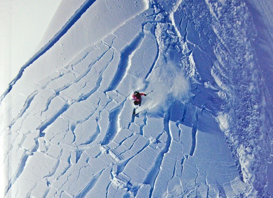 90% of all avalanches are caused by the victims themselves