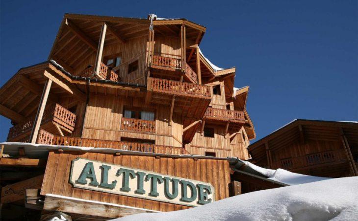 Le Chalet Altitude,val thorens,france.external