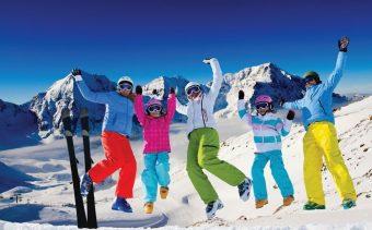 6 great ski holidays ideas for a successful family ski trip