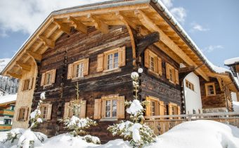 One of Austria's most luxurious ski chalets