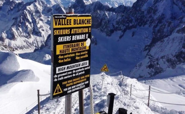Why nobody skied the entire length of the Vallée blanche this winter?