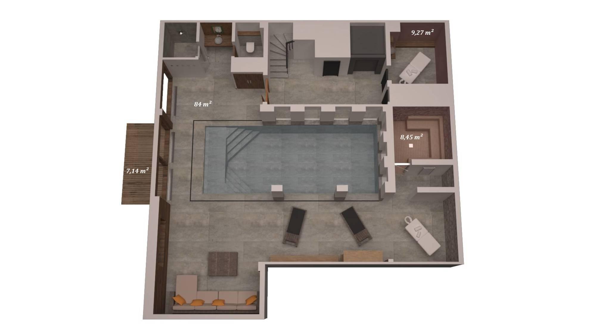 Chalet Queen Mijane Meribel Floor Plan 1