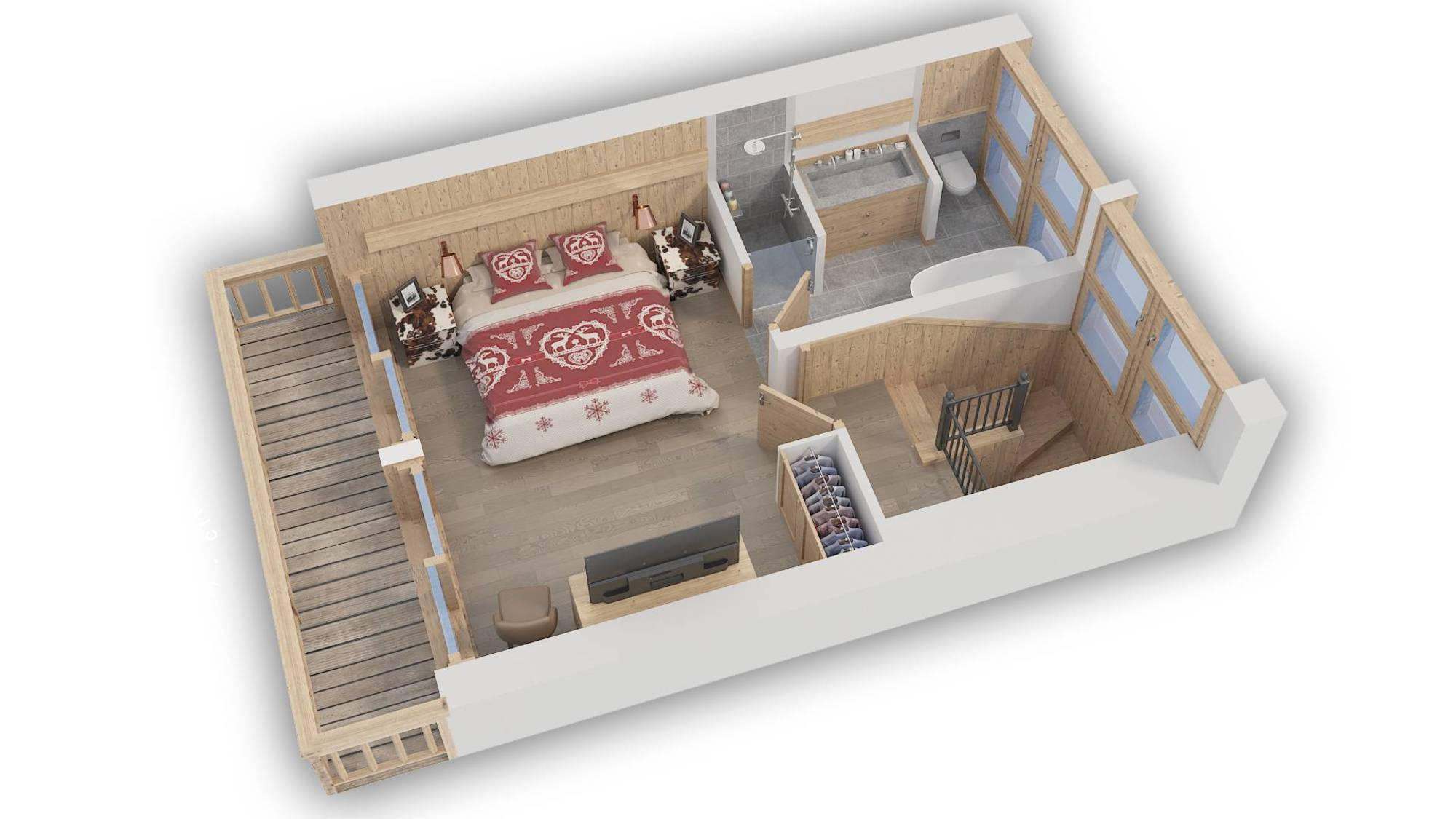 Chalet Hygge Meribel Floor Plan 3
