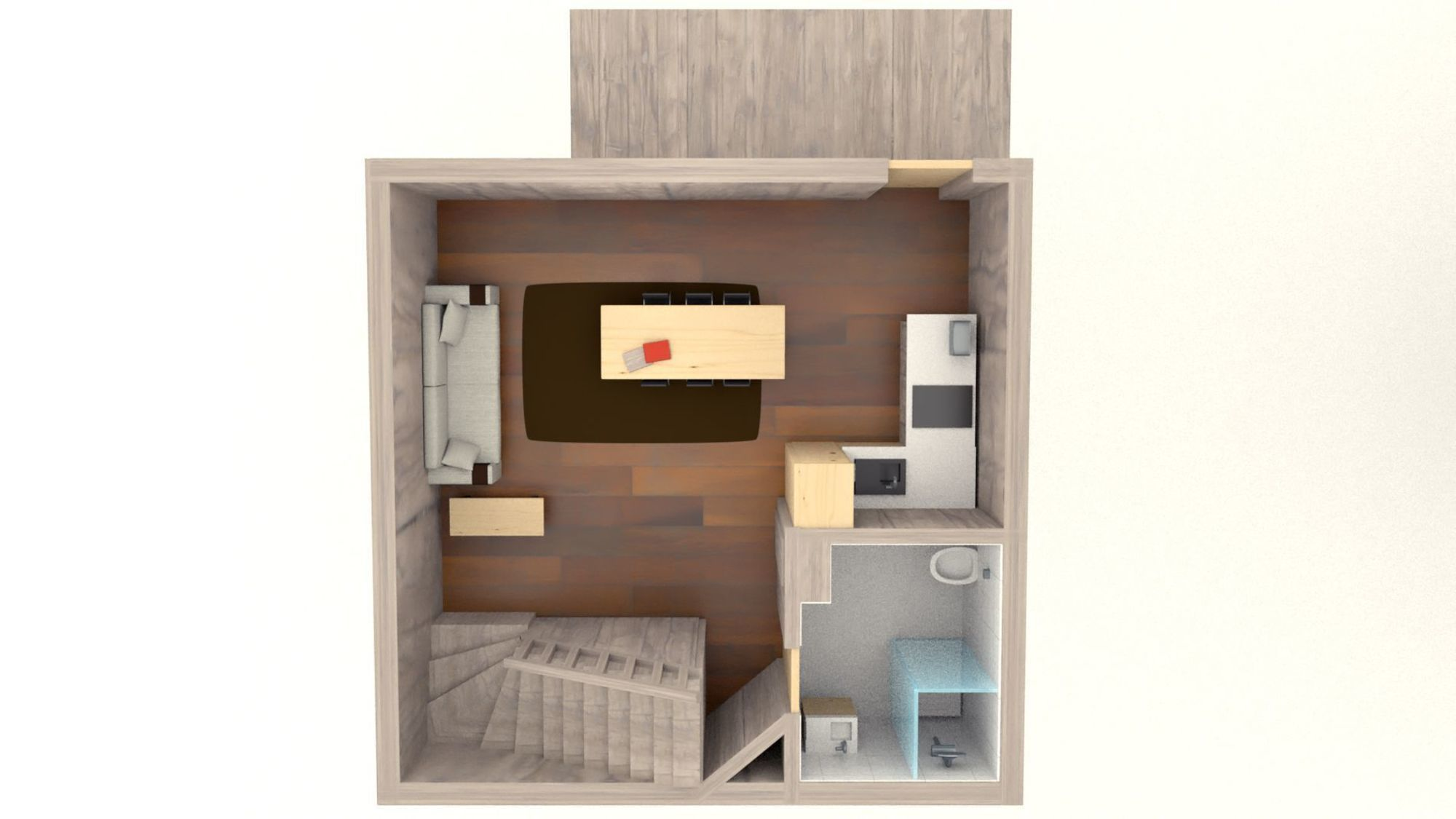 Chalet Mazot Meribel Floor Plan 1