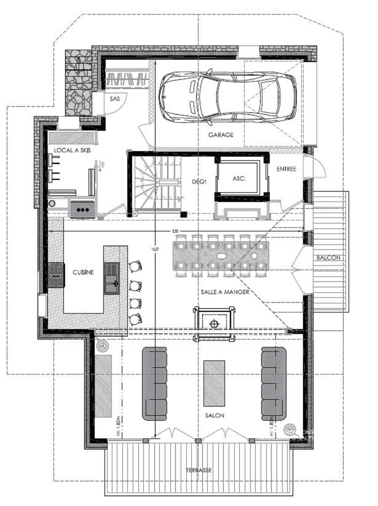 Chalet Pure Black Crystal St-Martin-de-Belleville Floor Plan 3