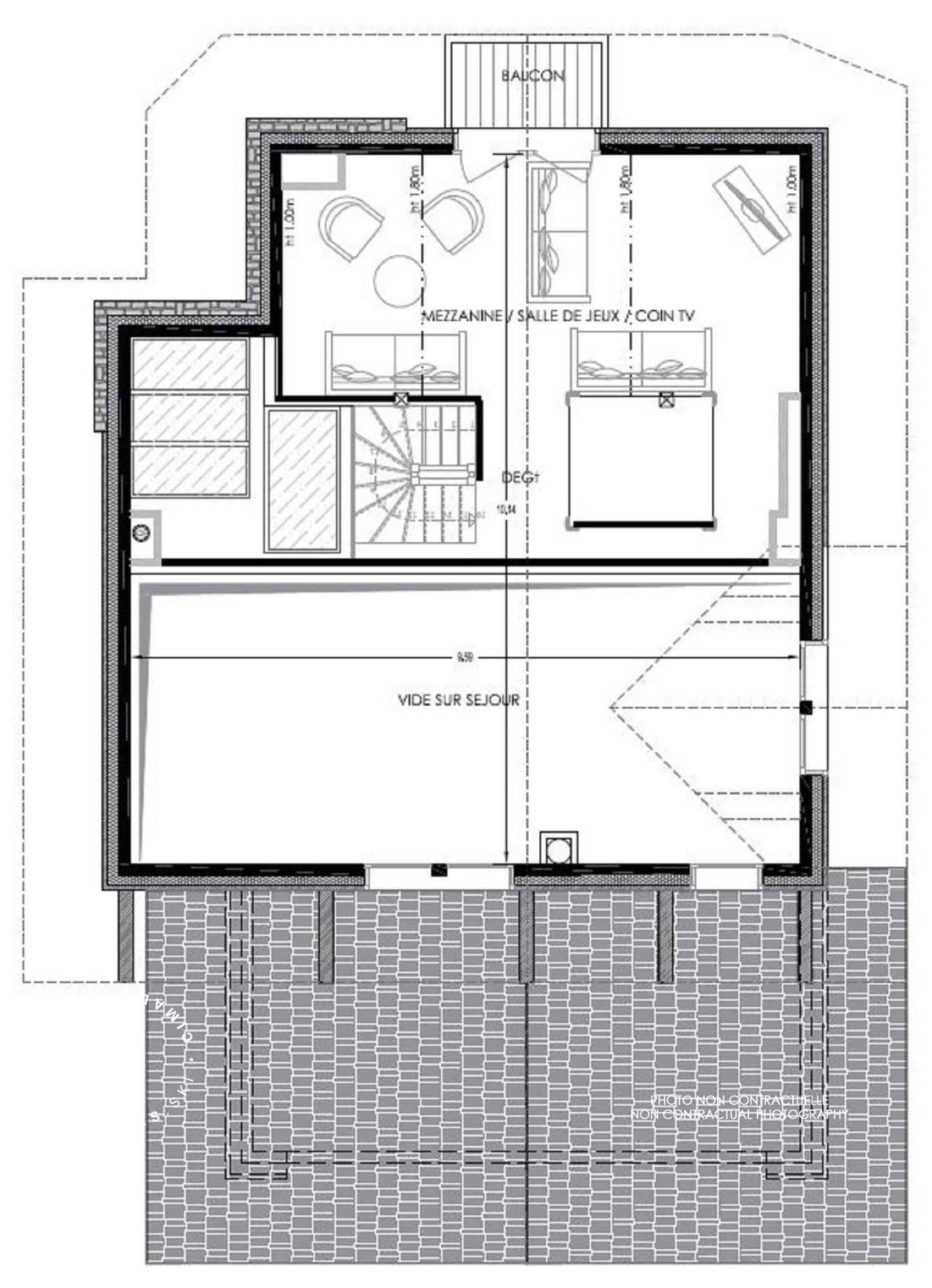 Chalet Pure Black Crystal St-Martin-de-Belleville Floor Plan 4