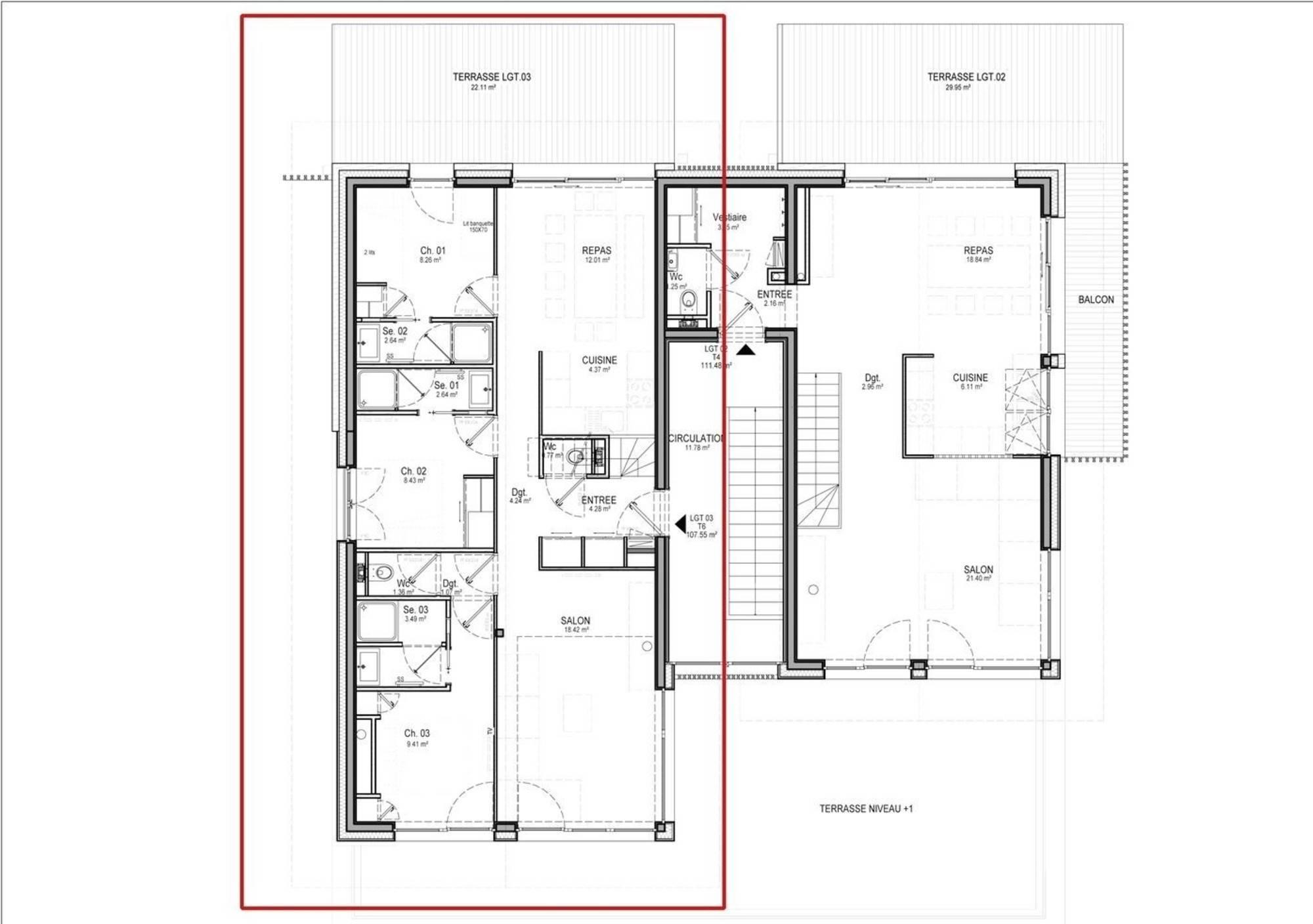 Apartment Home 5 St-Martin-de-Belleville Floor Plan 2