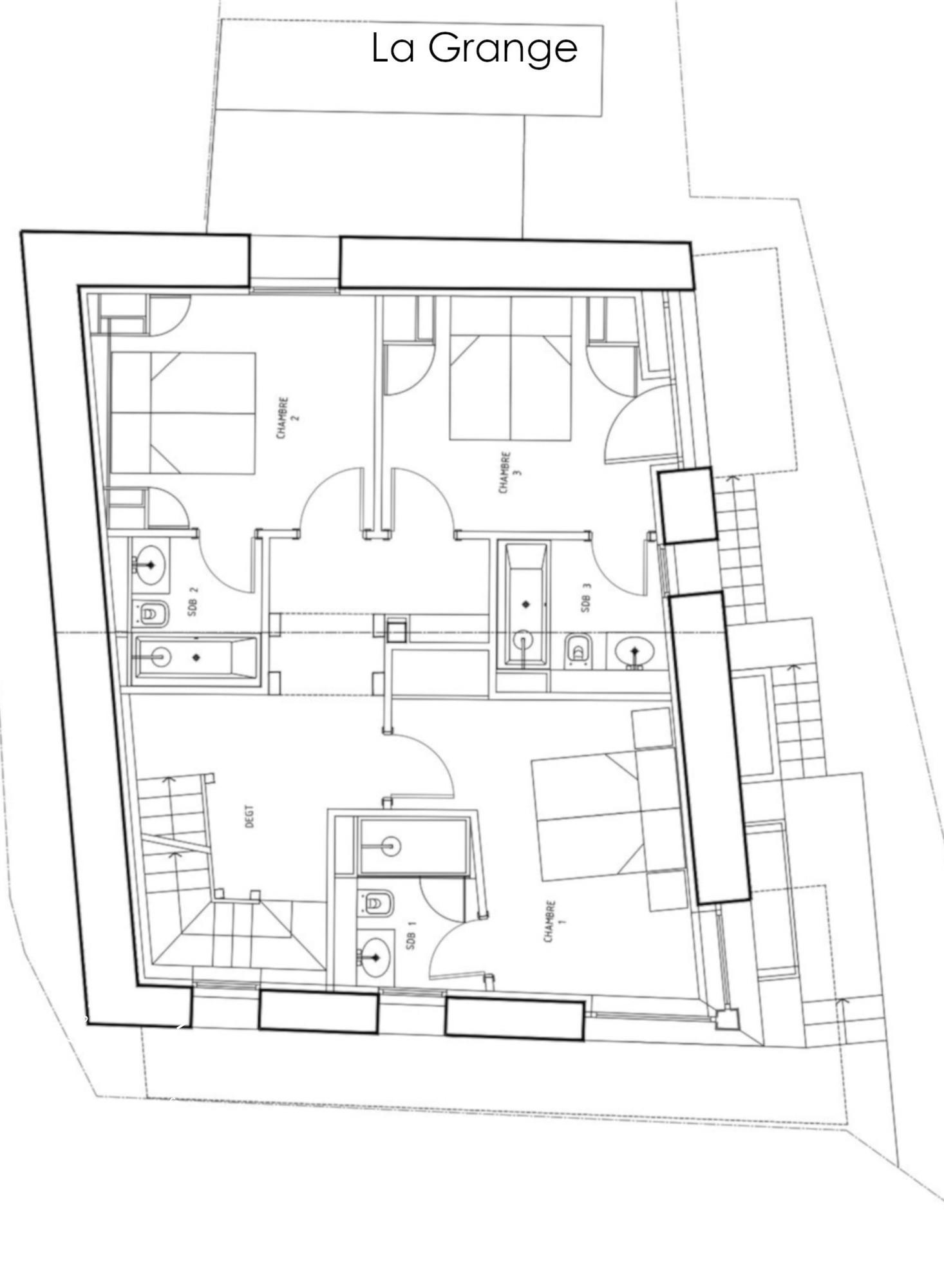 Chalet La Grange 1855 St-Martin-de-Belleville Floor Plan 2